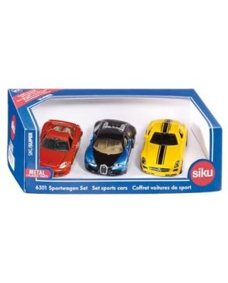 Dovanų rinkinys - 3 sportiniai automobiliai