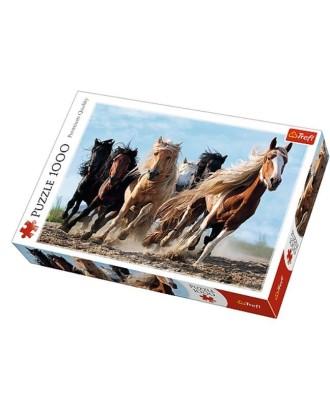 1000 Elementów Galopujące konie