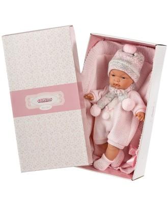 Joelle lėlė verkianti- 38 cm su rankšluosčiu