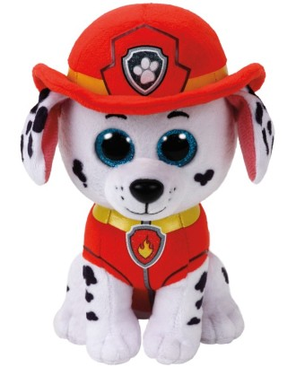Maskotka TY Beanie Babies Psi Patrol Marshal, 15 cm