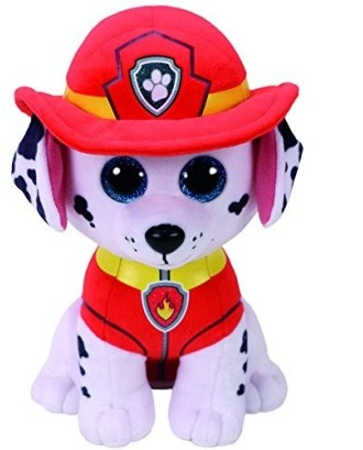 Maskotka TY Beanie Babies Psi Patrol, Marshall 24 cm