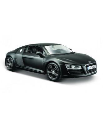 Audi R8 czarny mat 1/24