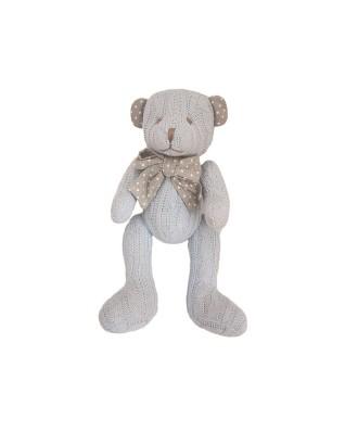 Cedric blue pliušinis meškiukas, 20 cm