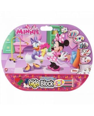 Zestaw 5w1 GigaBlock Minnie