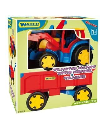 """Krautuvas su priekaba 117 cm """"Gigant Traktor"""""""