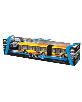 Autobus przegubowy na radio z pakietem