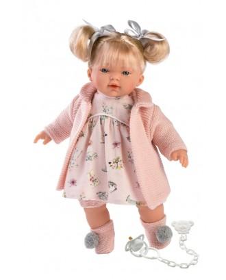 Aitana verkianti lėlė rausva blondinė 33112 -33 cm