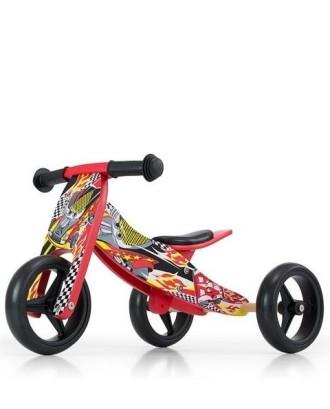 Jake Red Cars-medinis dviratis/triratis