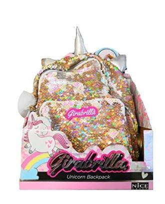 Plecak Girabrilla Jednorożec złoty