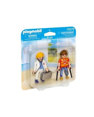 Figurka Duo Pack Lekarka i pacjent