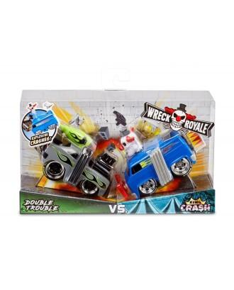 "Sprogstantys automobiliai, 2 vnt. ""Wreck Royale"""
