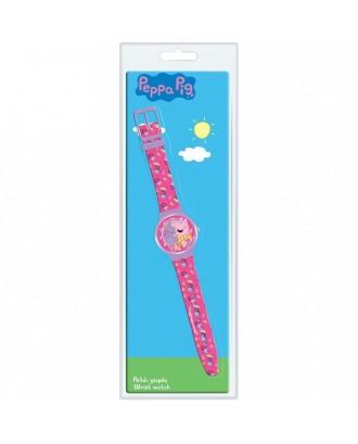 """Analoginis laikrodis """"Peppa Diakakis"""" lizdinėje plokštelėje"""