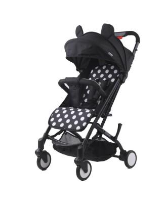 A8 Mickey vežimėlis- juodas