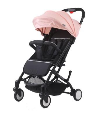 vežimėliai Oxford black / Lotus pink rožiniaI