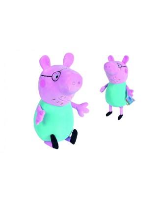 """""""Peppa Pig Dad """"pliušinis žaislas 37 cm"""