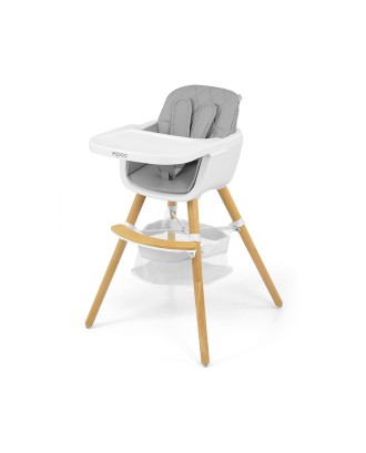 """""""2in1 Espoo"""" maitinimo kėdė -pilka"""