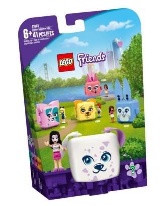 LEGO kaladėlės ,Draugai Emmos kubas su dalmatinu 41663