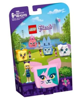 LEGO kaladėlės Stephanie's Cube su kate 41665