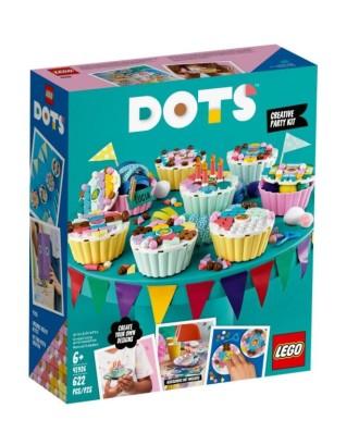 LEGO DOTS kaladėlės -Kūrybinis rinkinys su tortu 41926