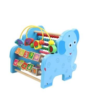 Drewniane liczydło edukacyjne Słoń