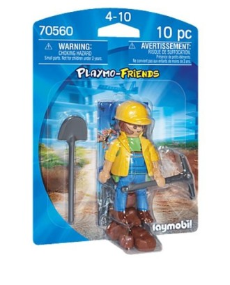 Figurka 70560 Pracownik budowy