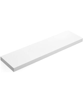Balta medinė lentyna 80cm