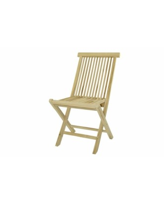 TEAK medinė sodo kėdė - sulankstoma