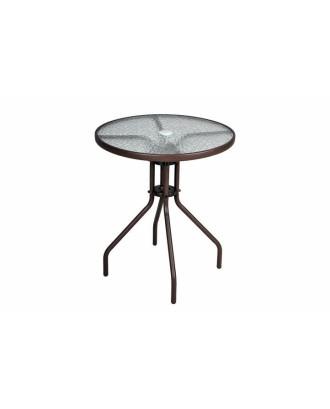 Bistro aliuminio stalas