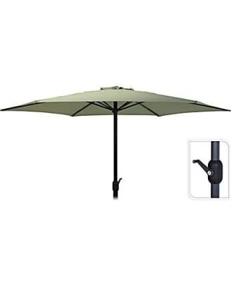 Stačiakampis sodo skėtis, 3m