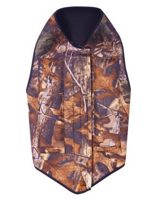 Medžioklinių šunų apsauginiai kamufliažiniai drabužiai