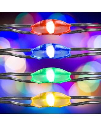 50 LED girliandos VOLTRONIC 2 vnt. Spalvotos