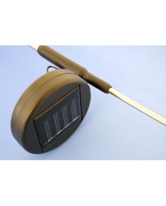 Drugelio formos LED saulės lempa