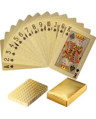 Plastikinės auksinės kortos