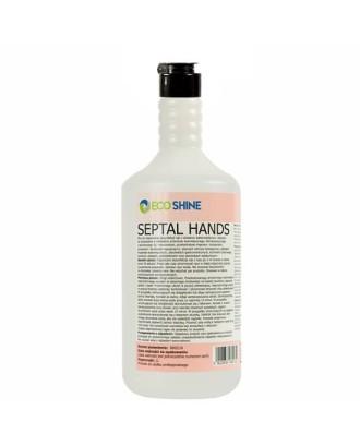 Baktericidinis skystis higieniškam rankų dezinfekavimui. 1 litras