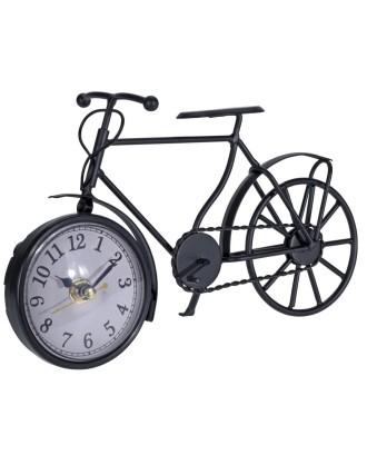 Zegar dekoracyjny kominkowy Rower 23cm