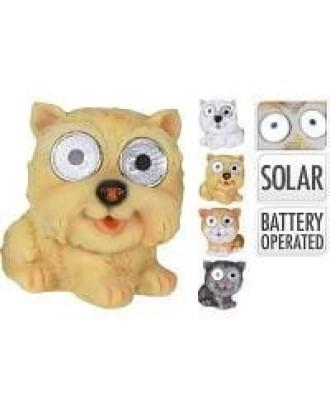 """Dekoratyvinė saulės lempa """"Dog Yellow"""""""