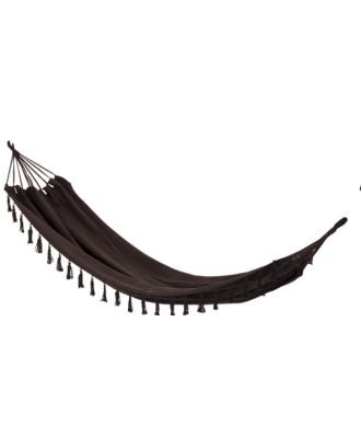 Sodo hamakas, 200x100 cm, rudas