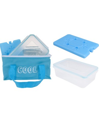 Termoizoliacinis maišelis su įdėklu ir 2,6 l talpos dėžute