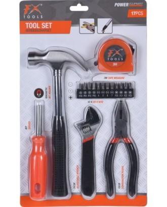 """17 dalių """"FX Tools"""" įrankių rinkinys"""