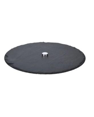 Besisukantis akmeninis padėklas 30 cm