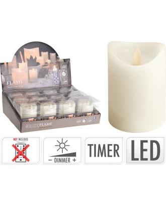 LED žvakė su judančia liepsna