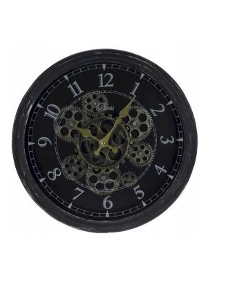 Sieninis laikrodis, pakabinamas, apvalus, sukamas su 37 cm pavara