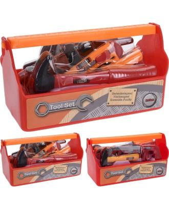 Žaislinė dėžutė su įrankiais