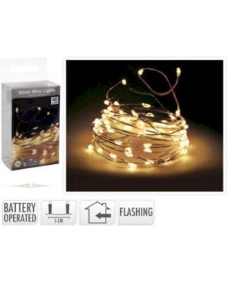 40 LED lempučių girlianda