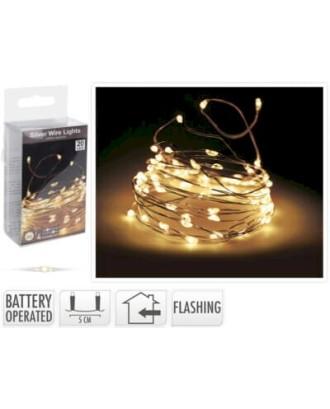 20 LED lempučių girlianda