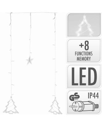 Kalėdiniai pakabinami žibintai 138 LED