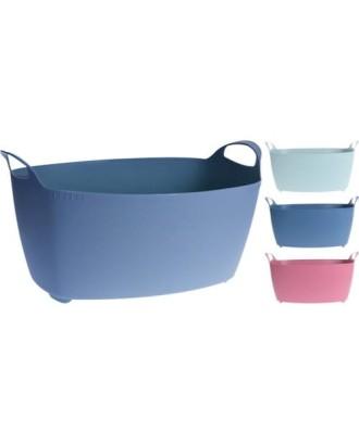 Ovalus nešiojimo krepšelis 38x60 cm