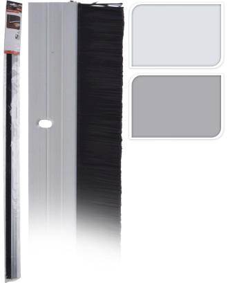 Šepetys aliuminio durų sandariklis 100cm
