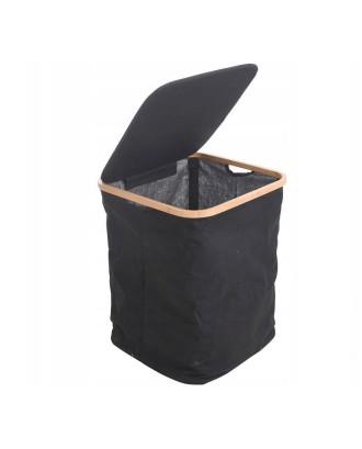 Skalbinių krepšelis su dangteliu 40x40x52cm