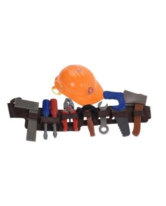 Žaislinis diržas vaikams su įrankiais